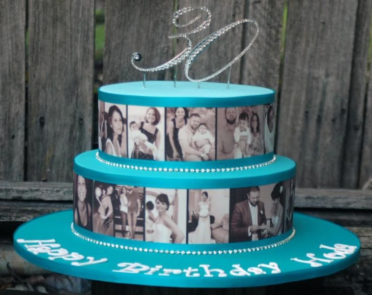 Celebrating With Photos Teale Cake Front Viewg 757600 Pixels