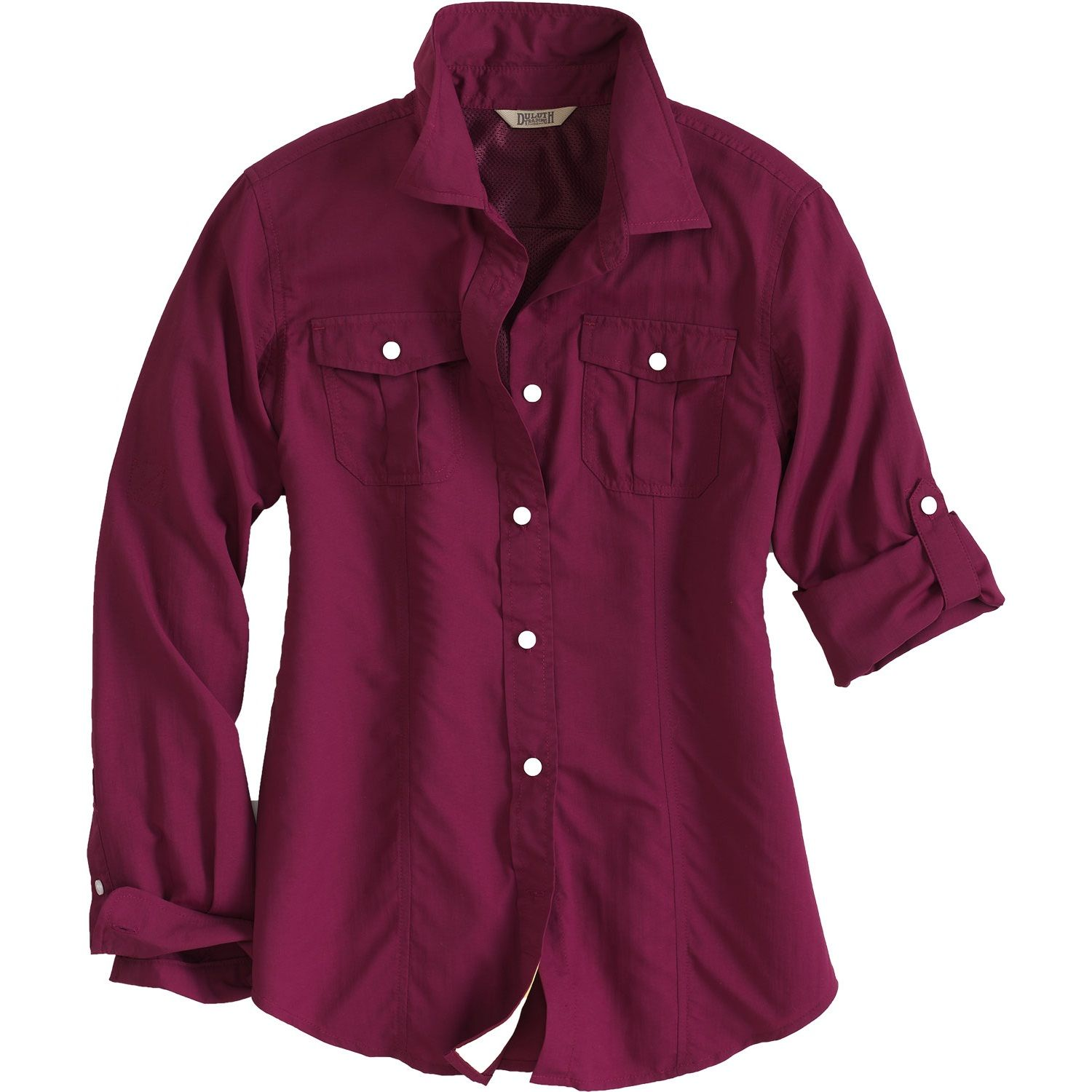 Women S Armachillo Long Sleeve Solid Shirt Duluth Trading