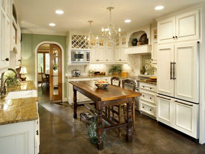 Ideen für die Kücheneinrichtung von dem Country Style | Kitchen ...