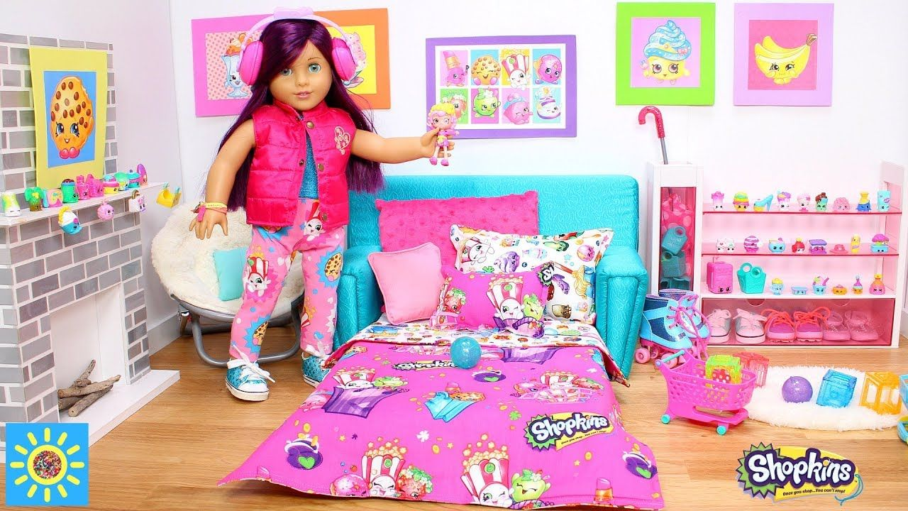 Shopkins Doll Bedroom Play Shopkins House Toys Play