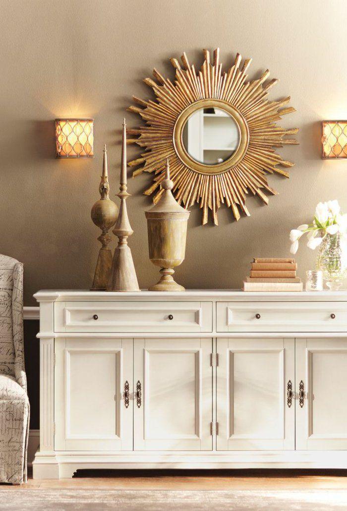 Cool wohnung dekorieren wanddeko spiegel accessoires