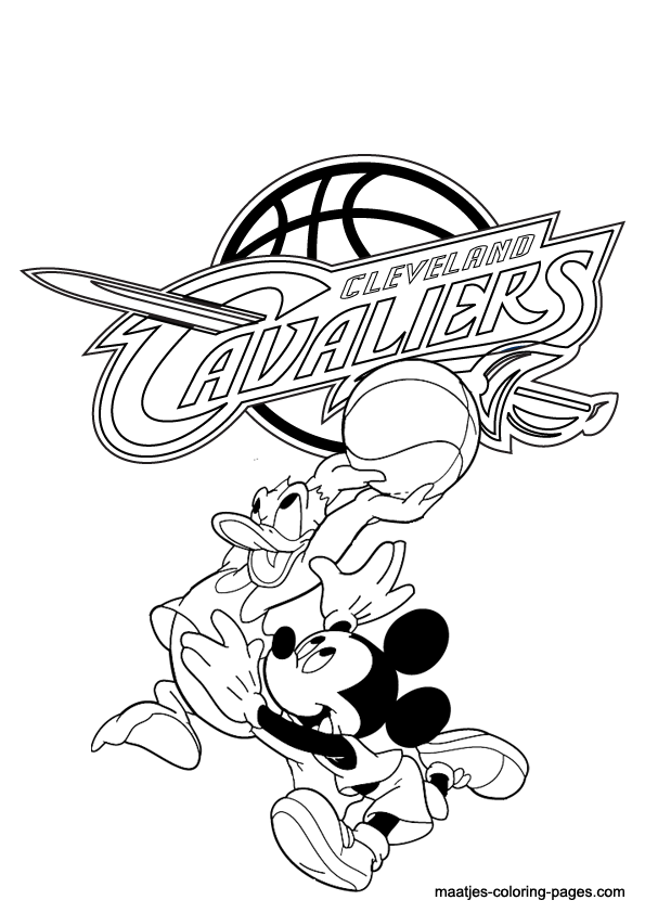 Cavs Coloring Pages Google Search Alexis Pinterest