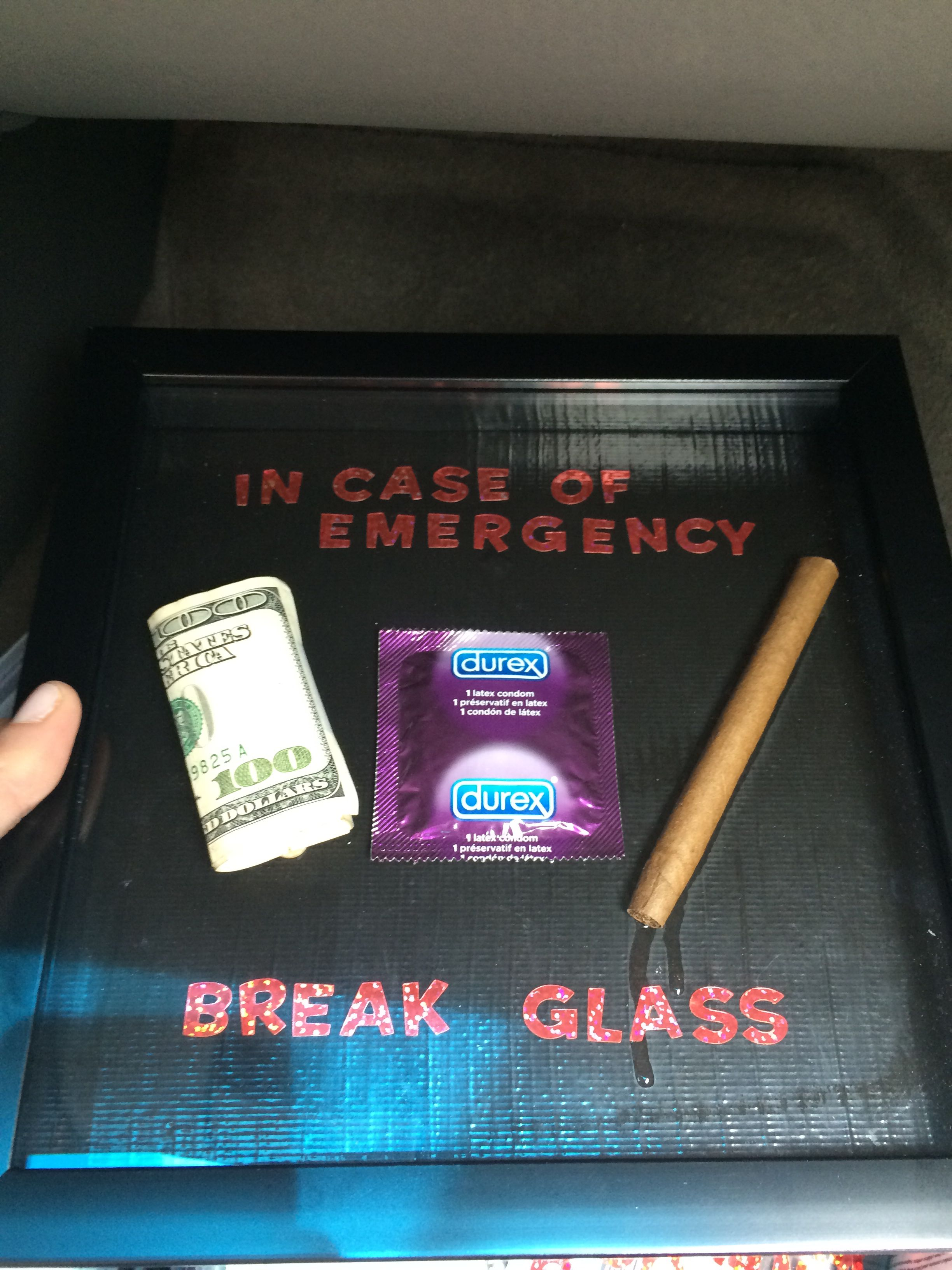 Diy Graduation Gift In Case Of Emergency Break Glass
