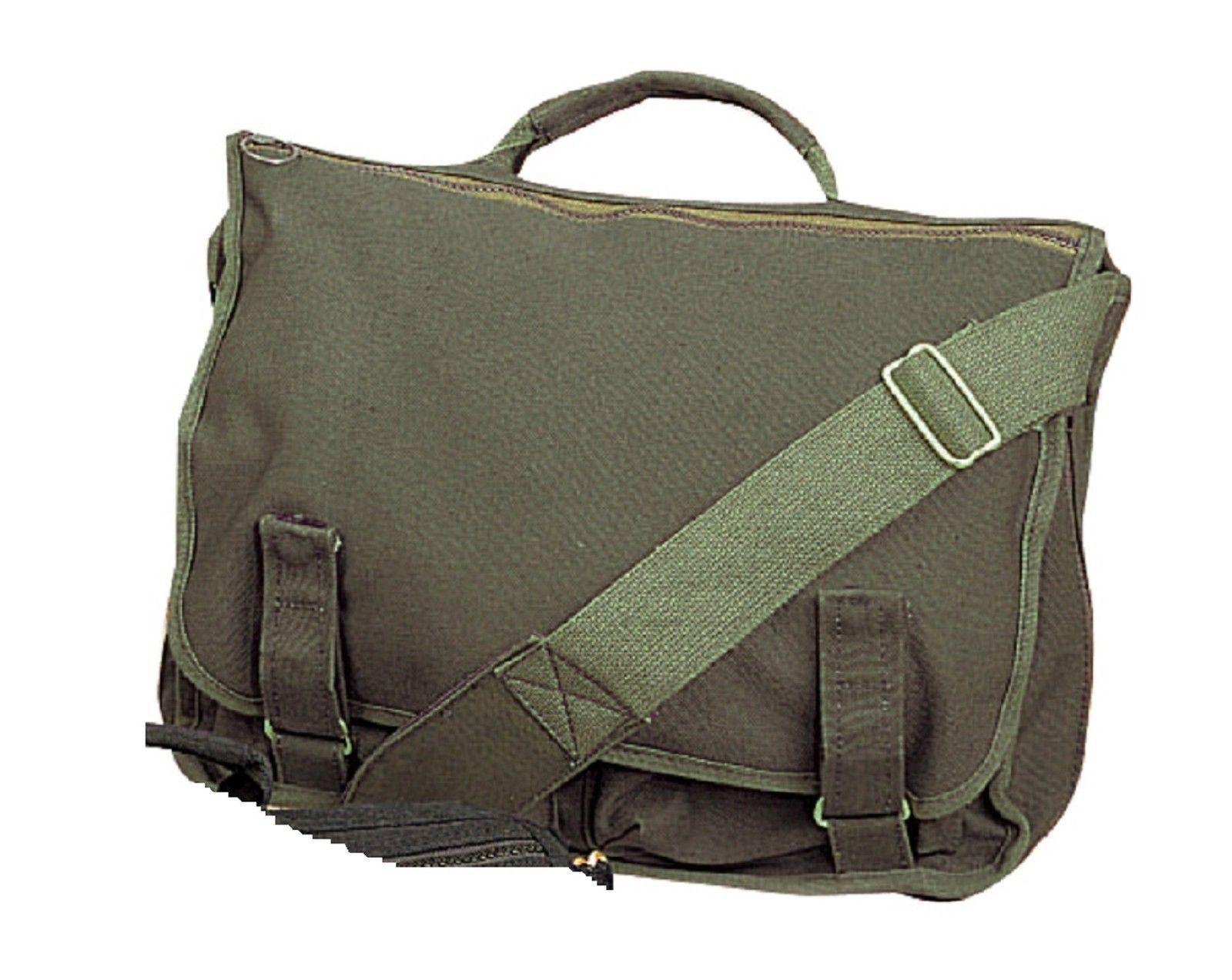 European Style School Bags - Canvas Versatile Shoulder Messenger ...