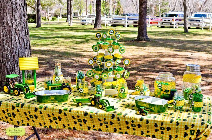 Tractor Party Ideas On Pinterest John Deere Party
