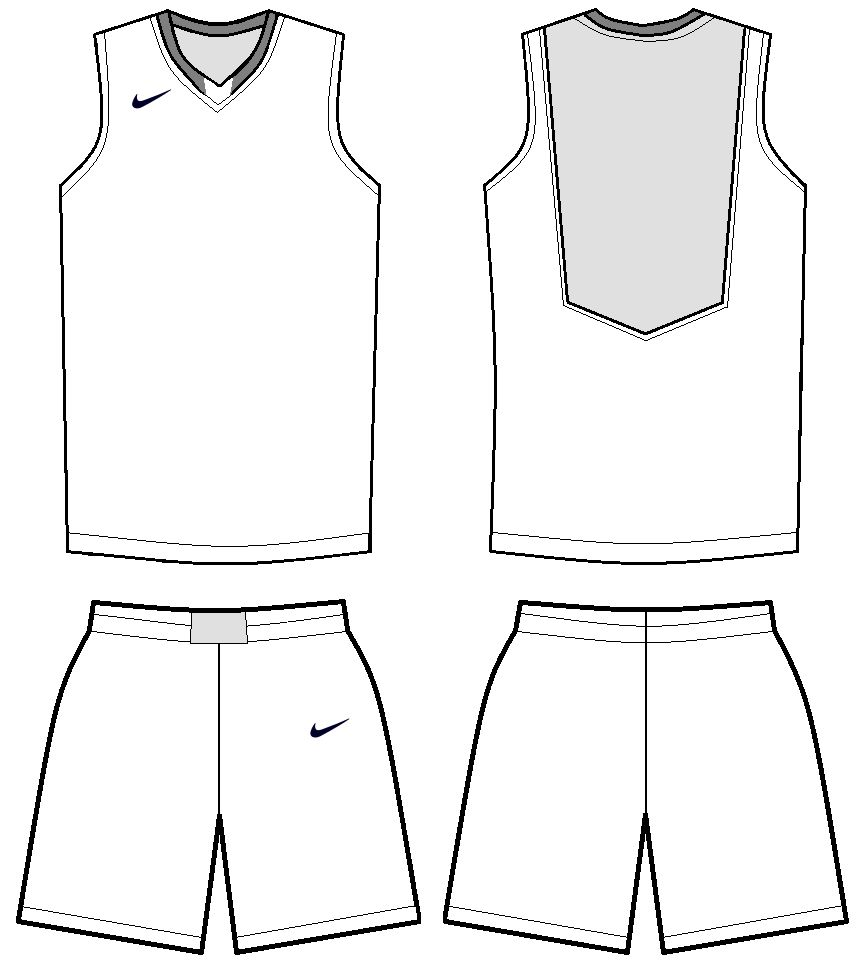 Download Free Basketball Jersey Template Download Free Clip Art For Blank Basketball Uniform Template Best Professional Template Pejuang