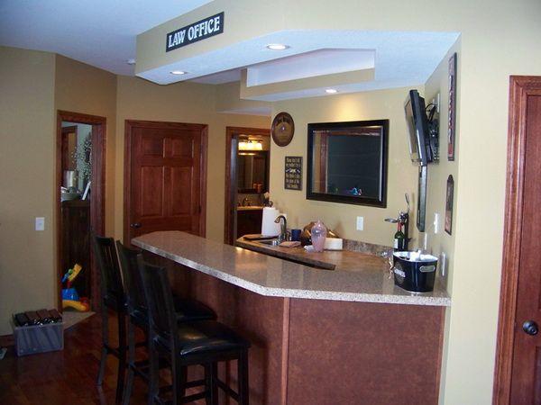 Office Table Bar ~ http://lanewstalk.com/breakfast-bar-table/