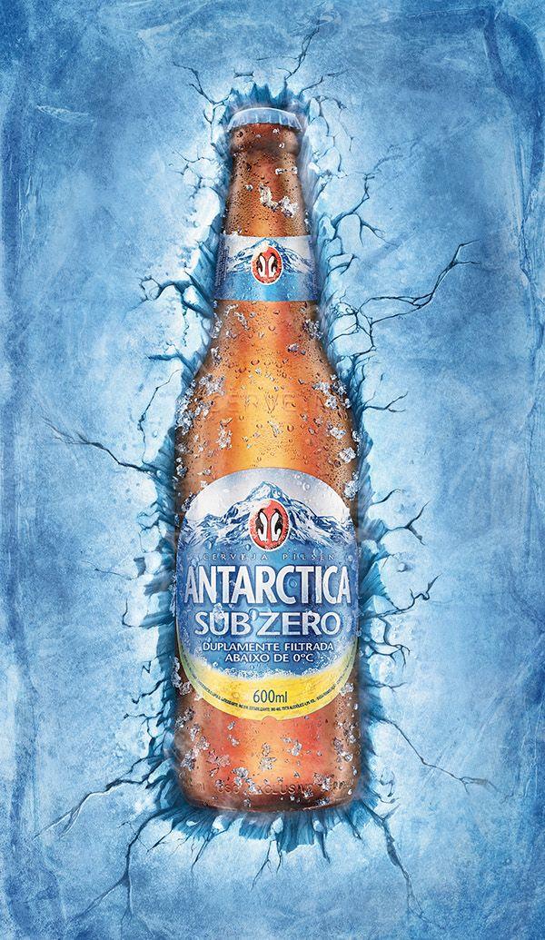 Antarctica Sub Zero Creative Advertising Design Bbdo Beer Advertising