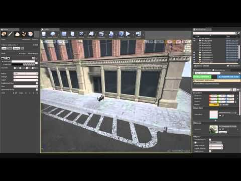 Procedural Curbs & Road system - YouTube | unreal engine in