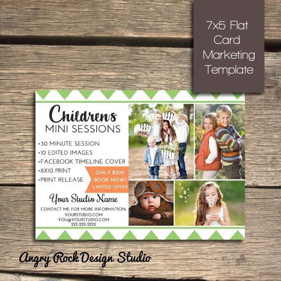 INSTANT DOWNLOAD - Children\u0027s Mini Session - Photoshop Marketing - marketing timeline template