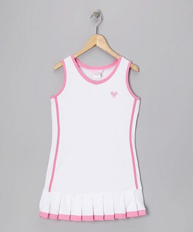 Pin By Johnsonscreative On Sugar And Spice Tennis Dress Girls Tennis Dress Girl Outfits