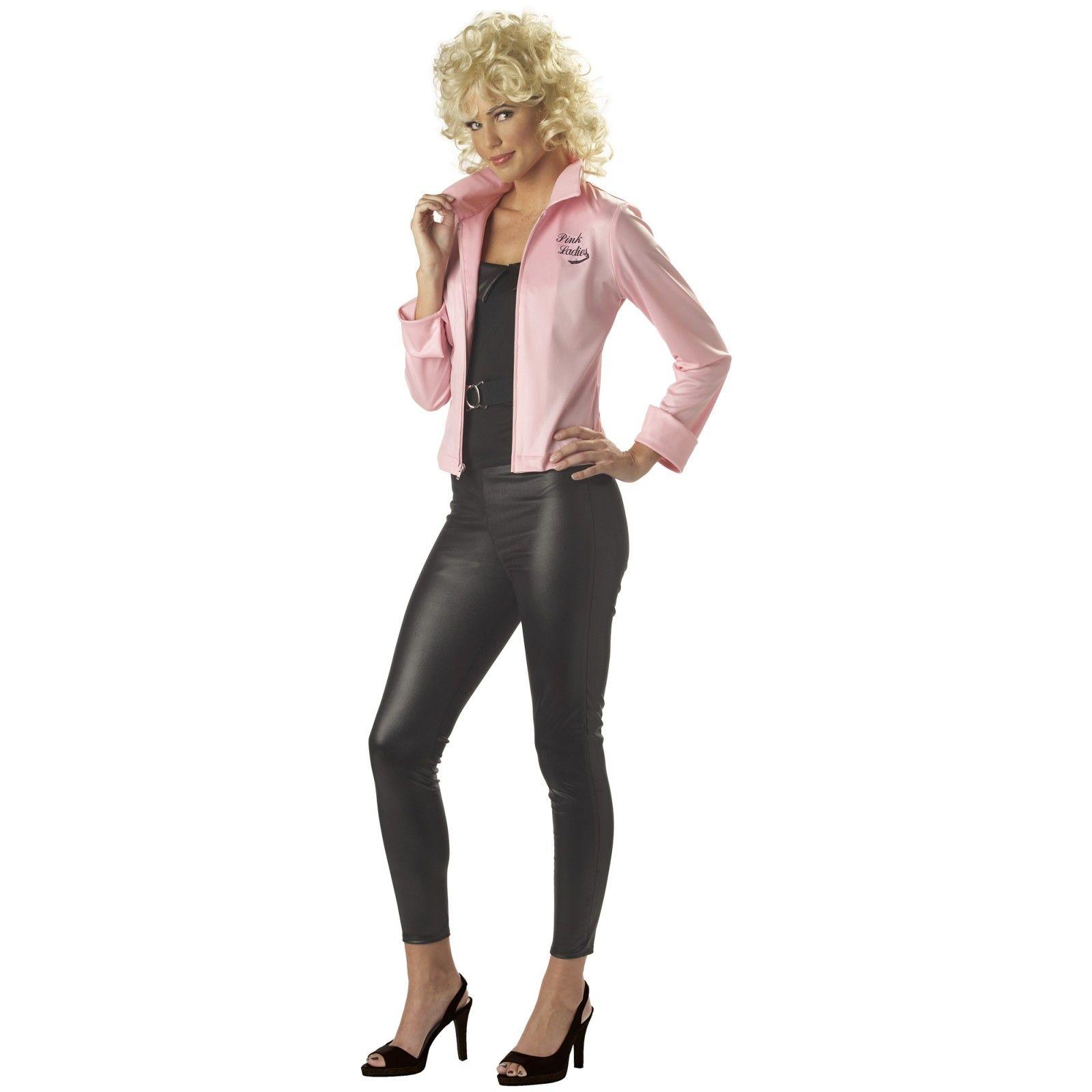 Grease Pink Ladies Jacket Adult Costume | Grease pink ladies ...
