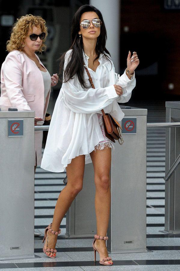 Znalezione Obrazy Dla Zapytania Natalia Siwiec Dieta Fashion Shirt Dress Outfits