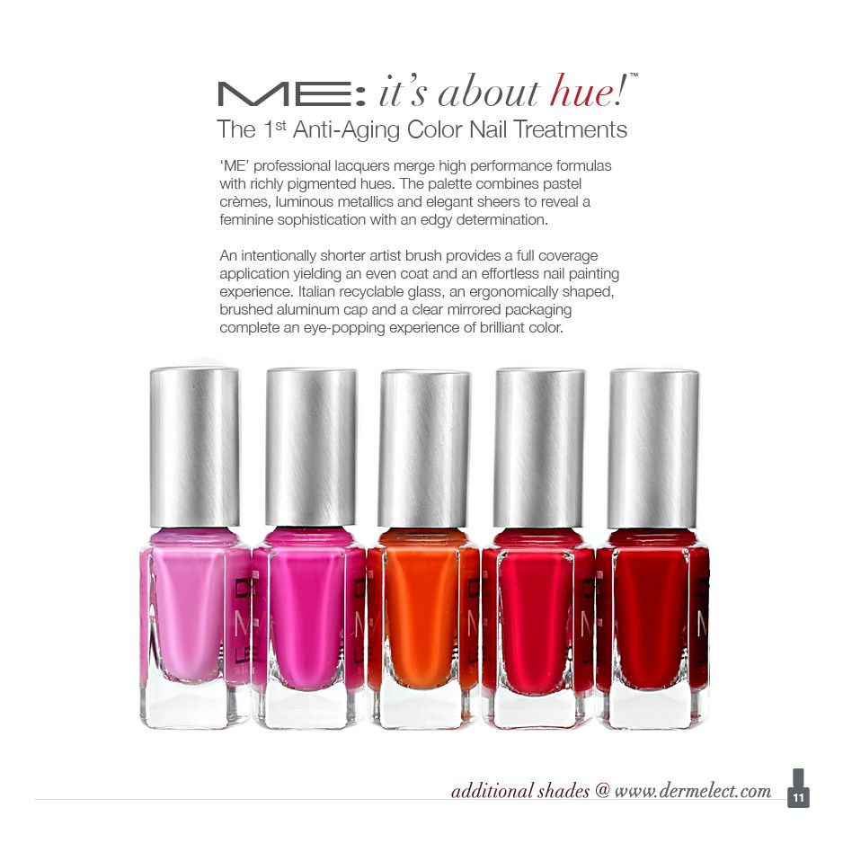 ME\' Peptide-Infused Nail Lacquers (Over 65 Shades!)   Color nails