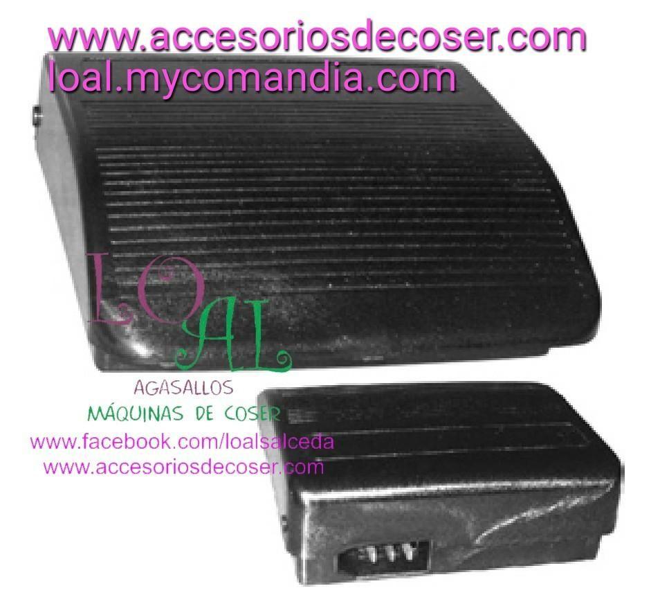 Pedal Reostato Maquina De Coser Sigma 2000 Tres Conexiones Maquina De Coser Cosas Conexión