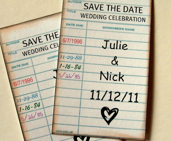 Unique save the date invitations lets plan pinterest unique save the date invitations junglespirit Gallery