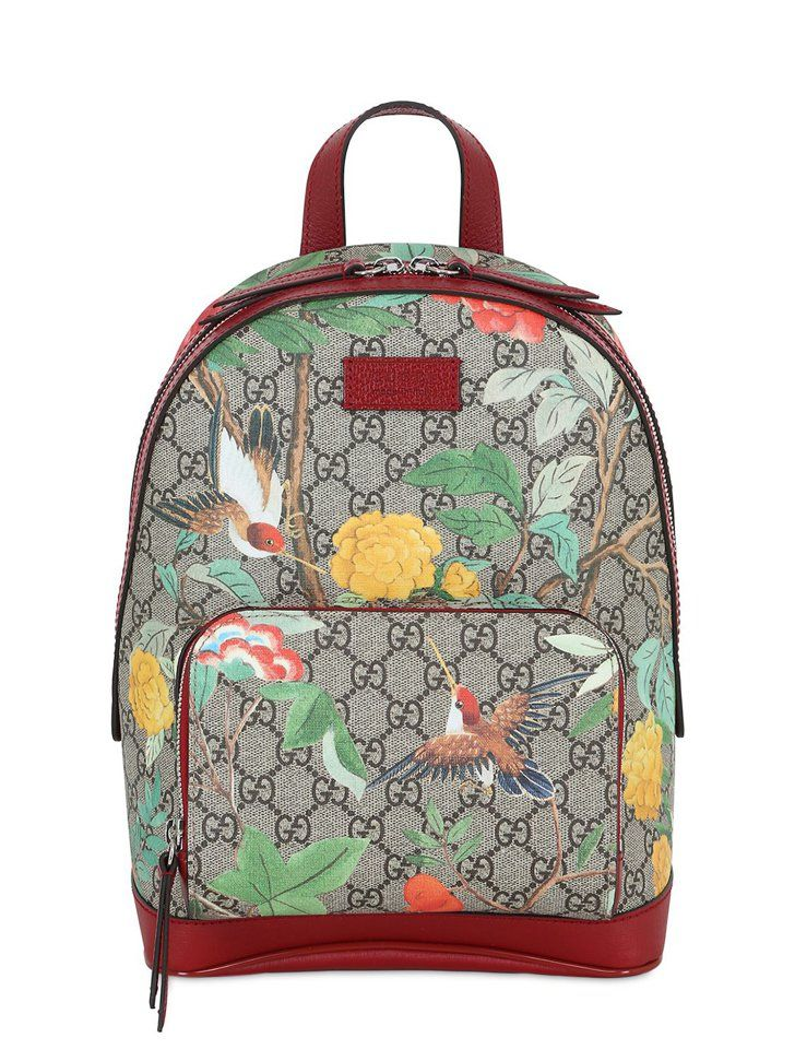 e6b4aa96ae1d Pin for Later: Retire Your Bag-Lady Status With These Superstylish Backpacks  Gucci Blooms GG Supreme Backpack Gucci Blooms GG Supreme Backpack ($1,250)