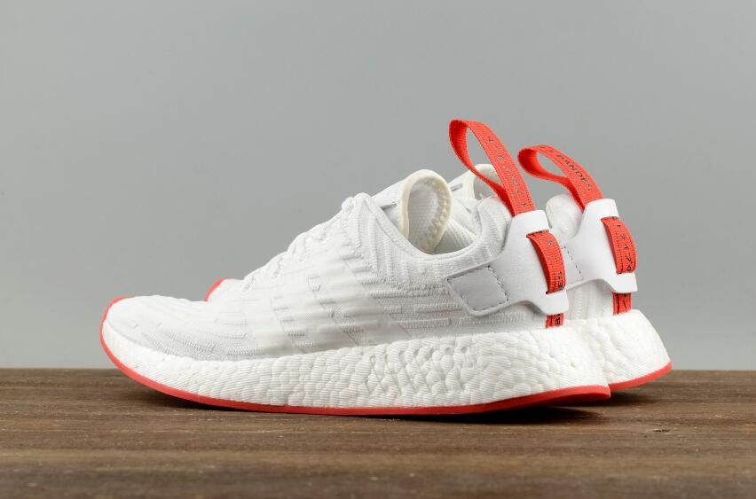 Buy Best Price Authentic Adidas&Nike Sports Shoes – Free Shipping Authentic  Adidas Yeezy Boost&Nike Sneakers. Adidas Originals NMD R2 PK White Red ...