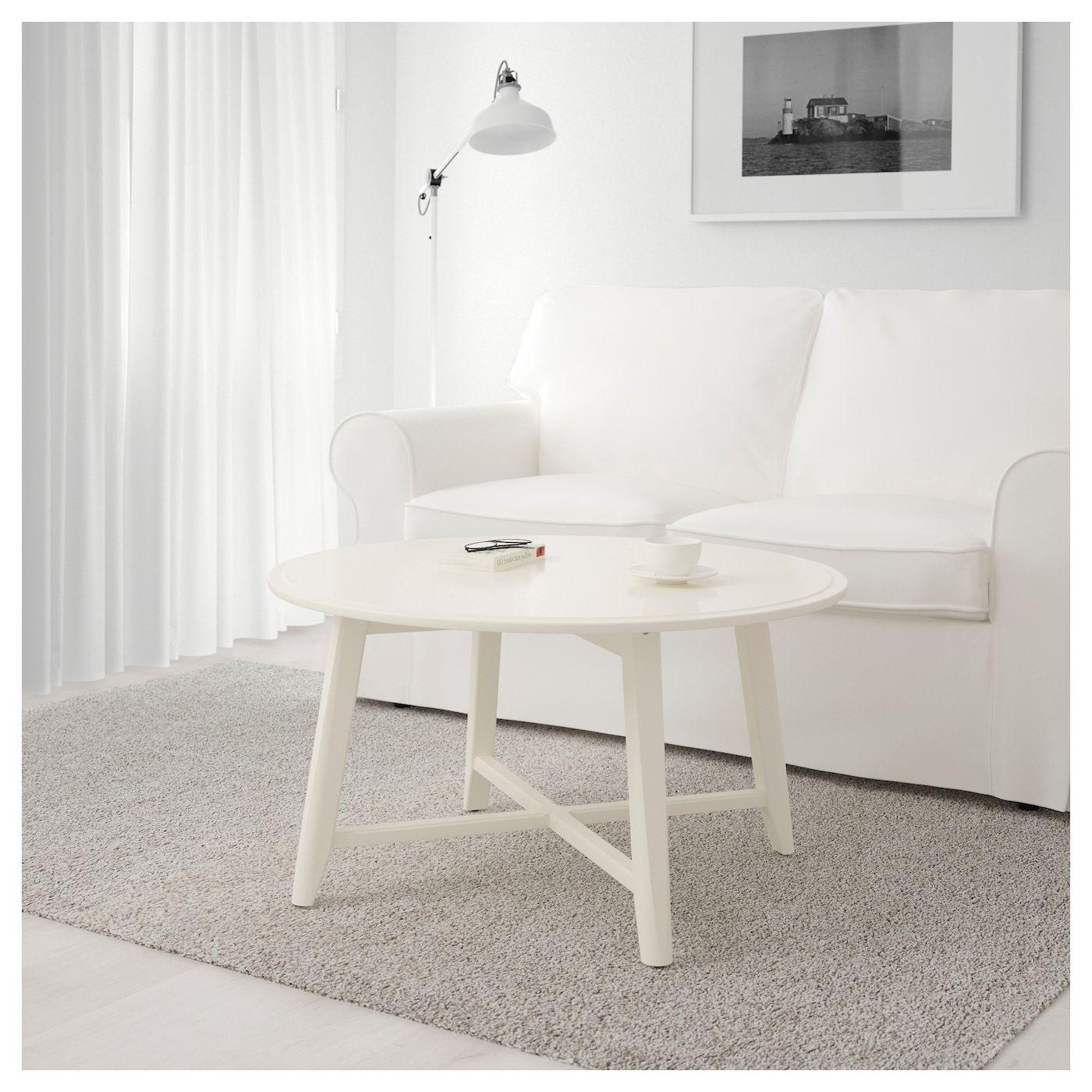 Kragsta Couchtisch Weiss 90 Cm Ikea Deutschland White Round Coffee Table Coffee Table Ikea Coffee Table [ 1400 x 1400 Pixel ]