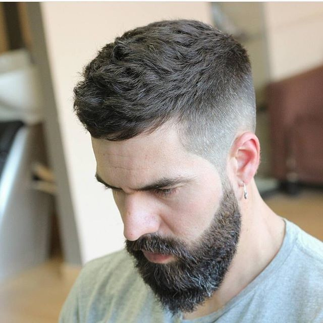 Short Hairstyles For Men + Mid Fade
