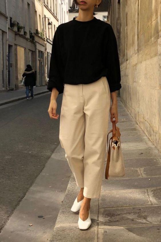 15+ Minimalistic Outfits For Spring | Moda estilo, Ropa de
