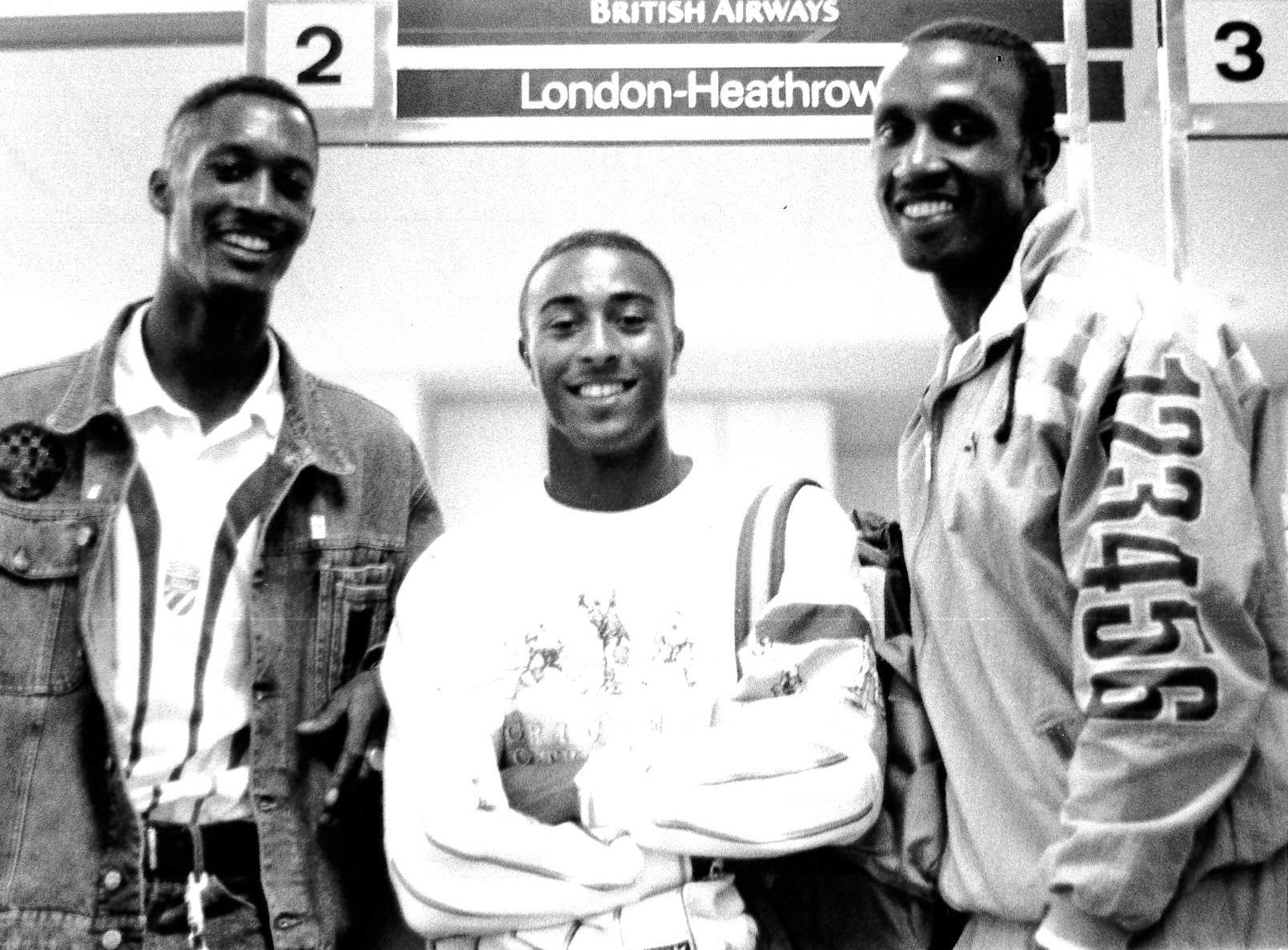 Dalton Grant, Colin Jackson and Linford Christie