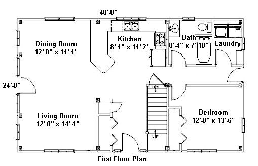 Post And Beam House Plans Floor Floor