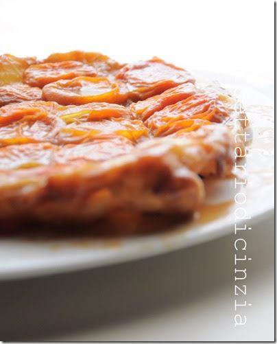 ilricettariodicinzia: tarte tatin alle albicocche