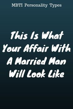 How to start an affair with a married man
