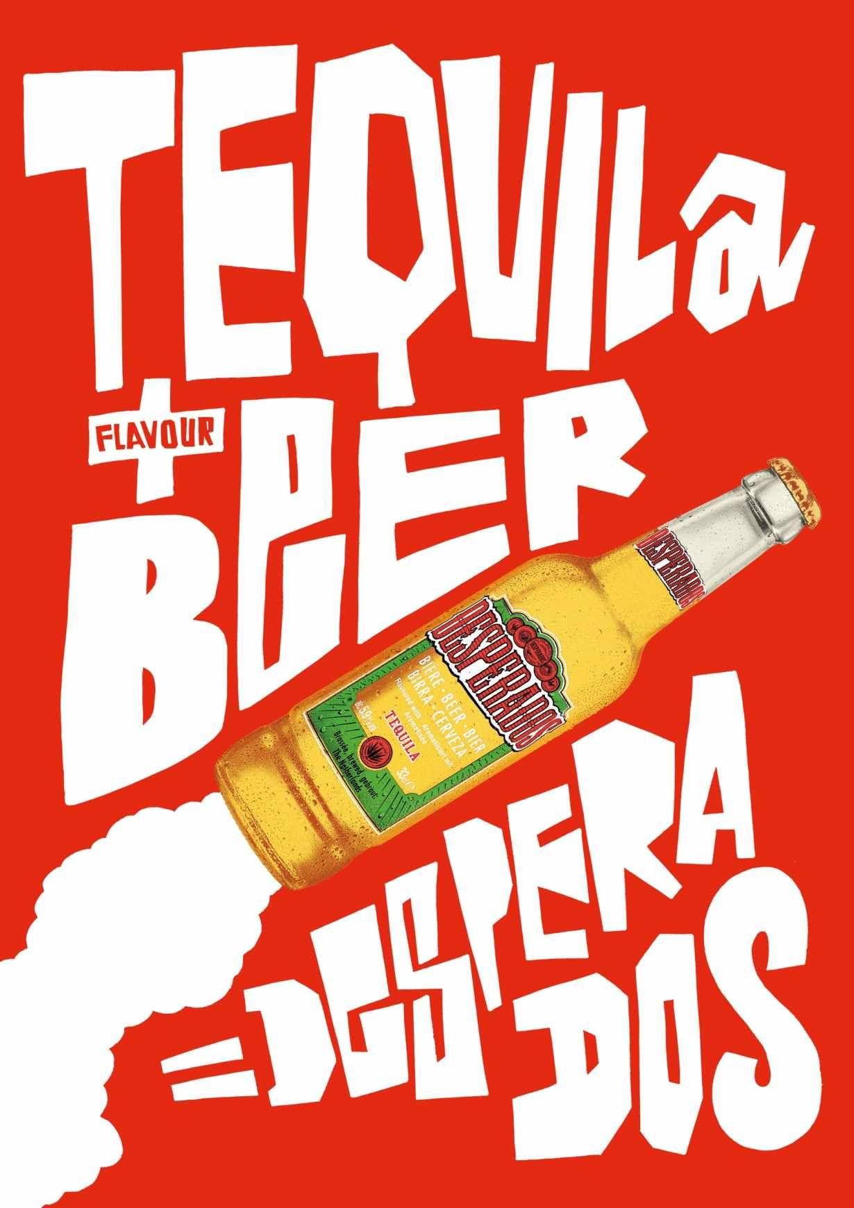 Desperados Way Of The Desperados 6 Desperado Beer Beer Advertising Beer Design