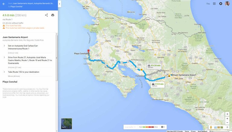 gps with costa rica maps Google Maps Offline Gps Routing Available Even When There S No gps with costa rica maps