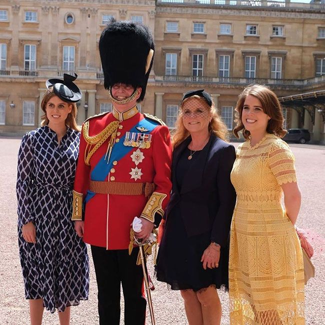 Princesses Eugenie, Beatrice And Sarah Ferguson SURPRISE