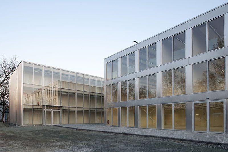 Architekten Frankfurt metall und modul europäische schule in frankfurt am