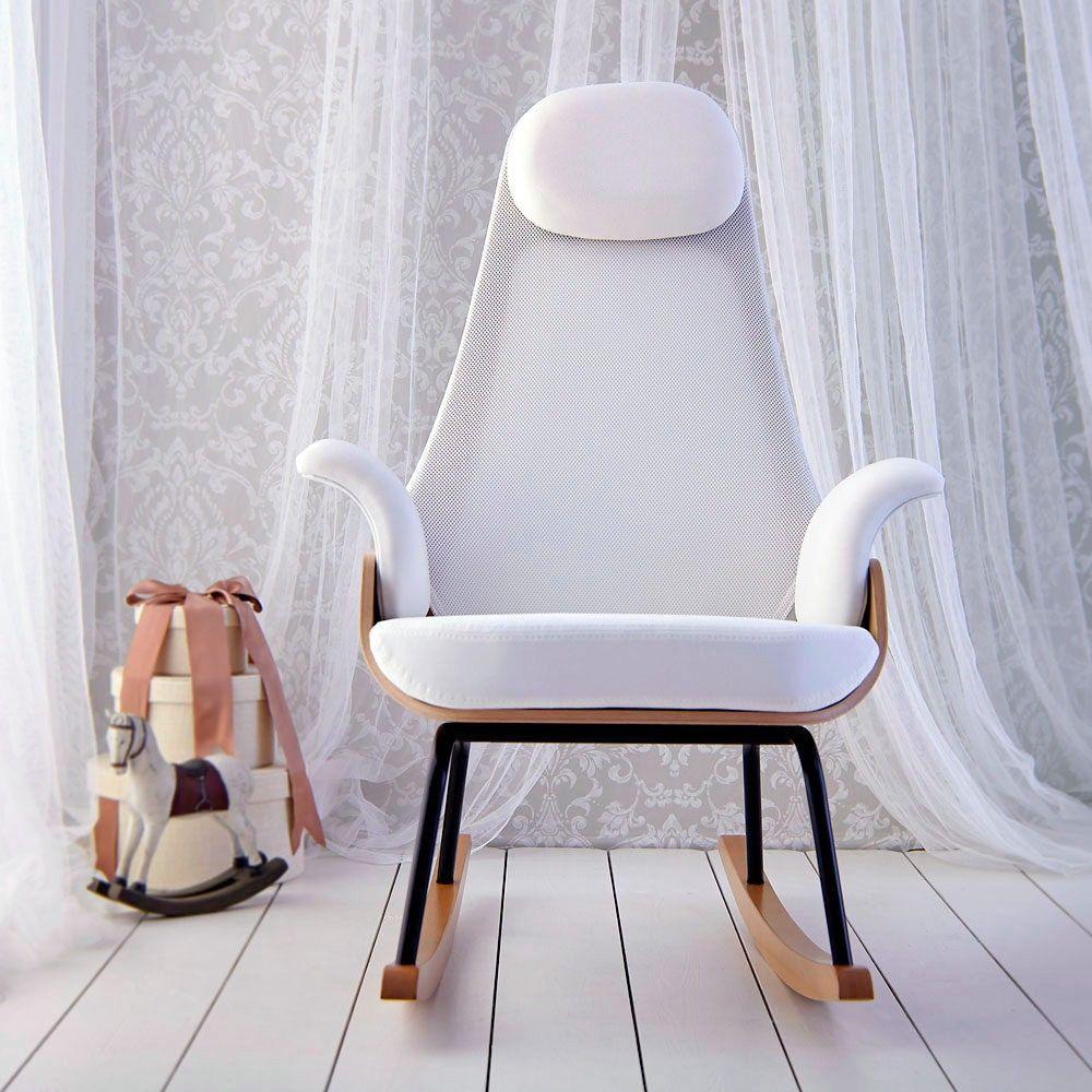 Mecedora Lactancia Nana Para Sentarse Y Mecerse Mobiliario  # Muebles Mecedoras