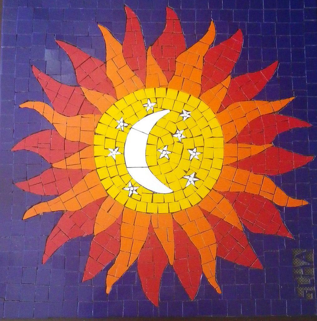 Sol em Mosaico /Sun in Mosaic   Trabalho Finalizado foram 4 …   Flickr