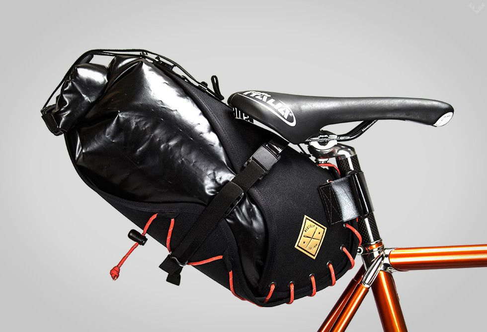 Restrap Carryeverything Saddlebag Bikepacking Bags Bike Bag
