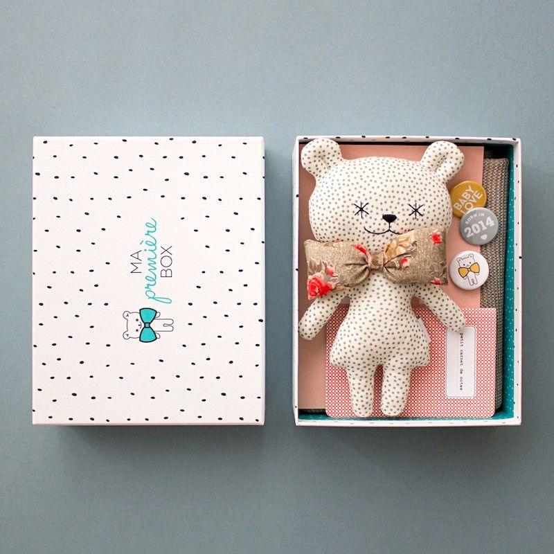 Cadeau de naissance original pour Fille : La Box pour Bébé | Ma ...