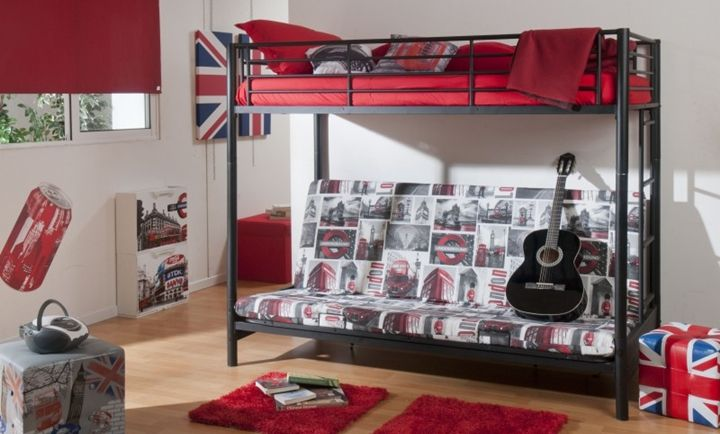 Decoraci n de dormitorios juveniles para chicos for Alcobas juveniles modernas