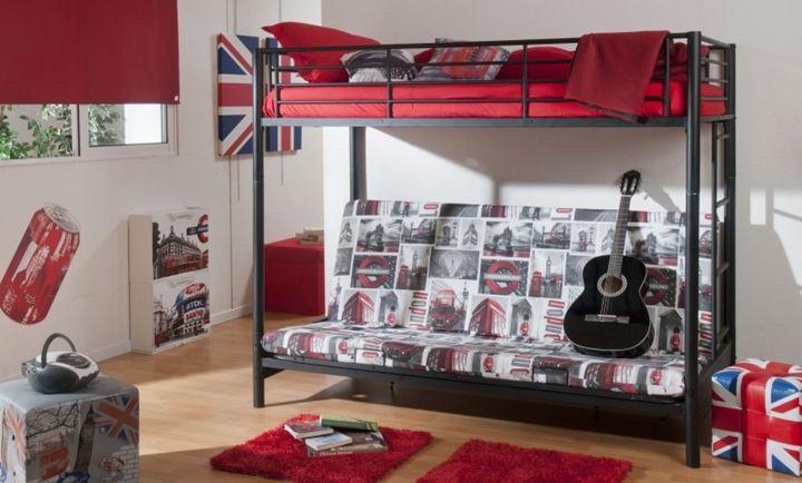 Decoraci n de dormitorios juveniles para chicos for Decoracion de cuartos juveniles
