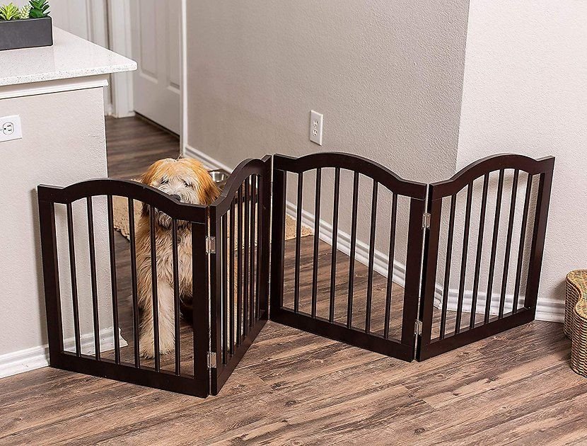 Buy Best Traditional Arch Pet Gate, Espresso