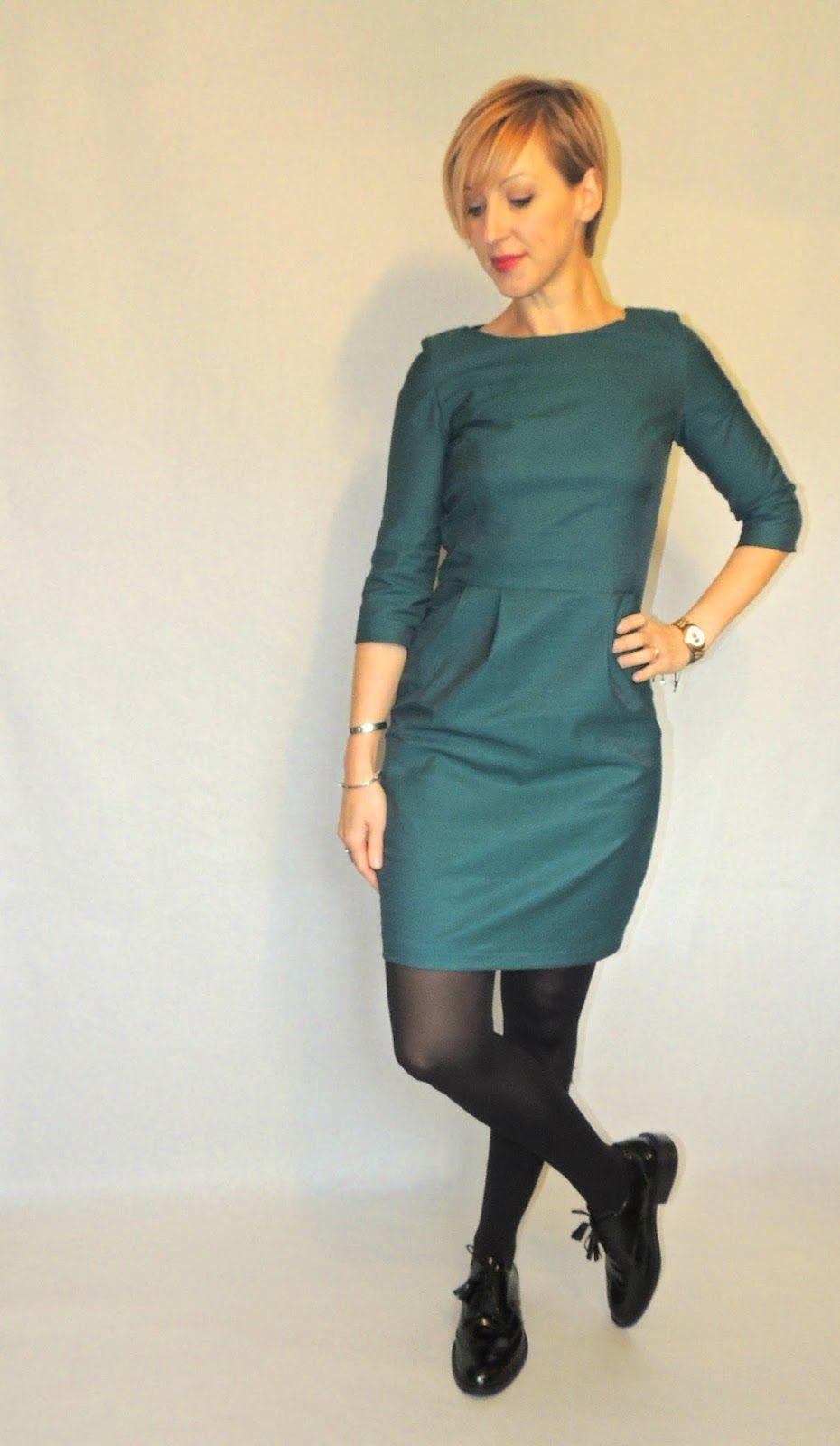 6d1607f55609 Robe Lora  2 Conseils couture   Report des pinces sur le tissu avec du  calque et roulette