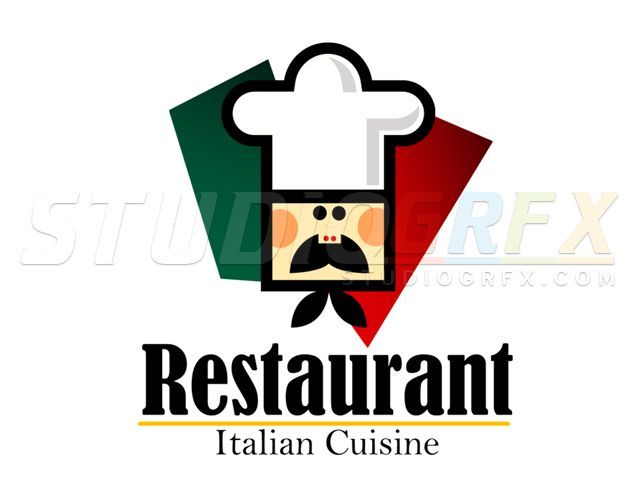 italian restaurant sample logo visit www studiogrfx com to view my rh pinterest ca italian restaurant logo maker italian restaurant logo with flag