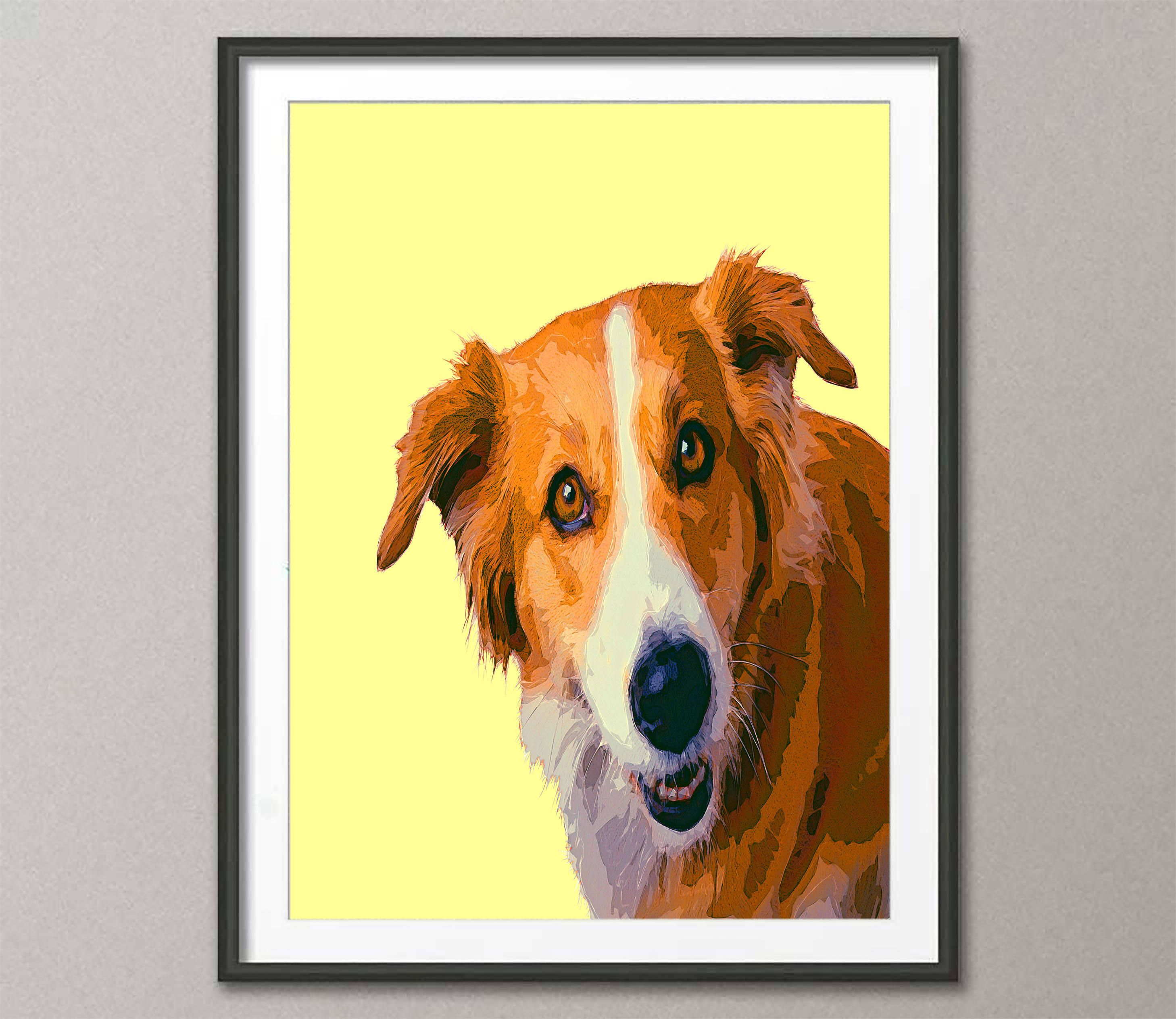 Awesome Dog Wall Art Photos - The Wall Art Decorations ...