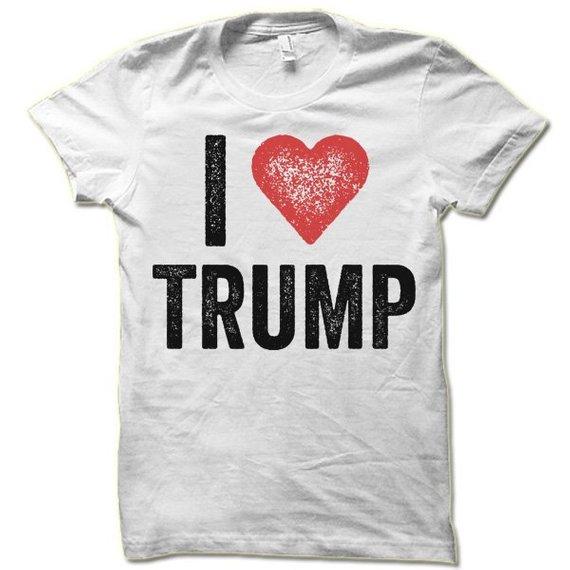 532bcb75c I Love Trump T Shirt | Donald Trump Supporter Shirt | Trump Voter Tshirt
