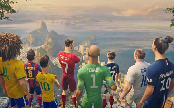 Nike ad puts World Cup superstars in a Pixar-like 'toon — VIDEO | EW.com