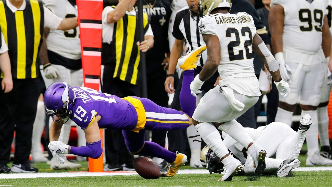NFL playoff officiating decisions Was that pass