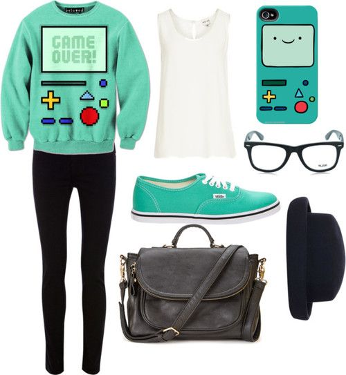 Fashion week Chic: Geek Fashion Inspired by Adventure Time for girls