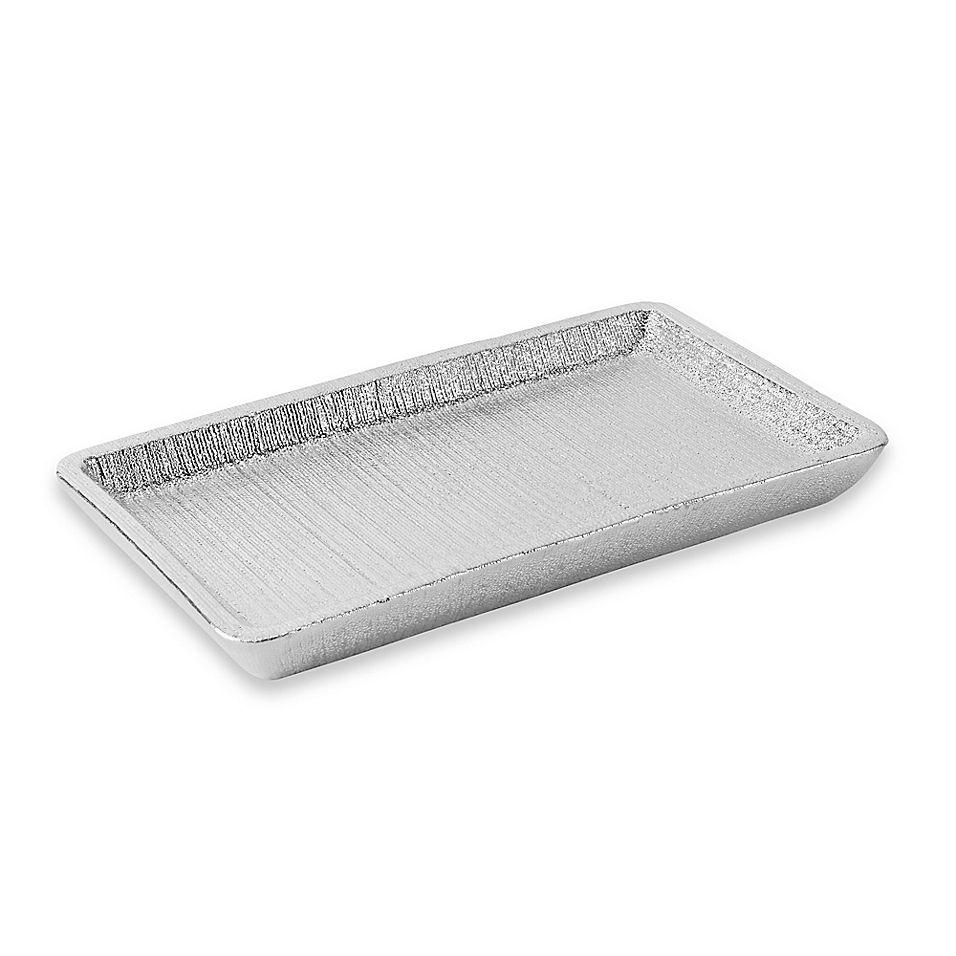 Celina Vanity Tray In Light Silver Vanity Tray Vanity Caro Home