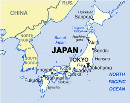 World Map Of Tokyo Japan Google Search Kids Need To Know - Japan map in world map