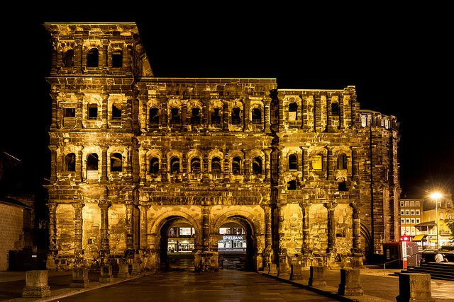 Porta Nigra - Some of Germany's Cities on the River